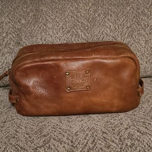 Will leather goods travel bag